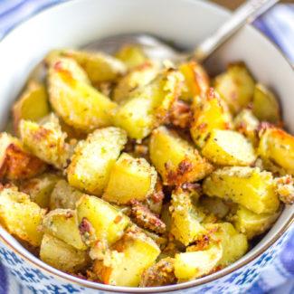 Garlic Parmesan Ranch Roasted Potatoes