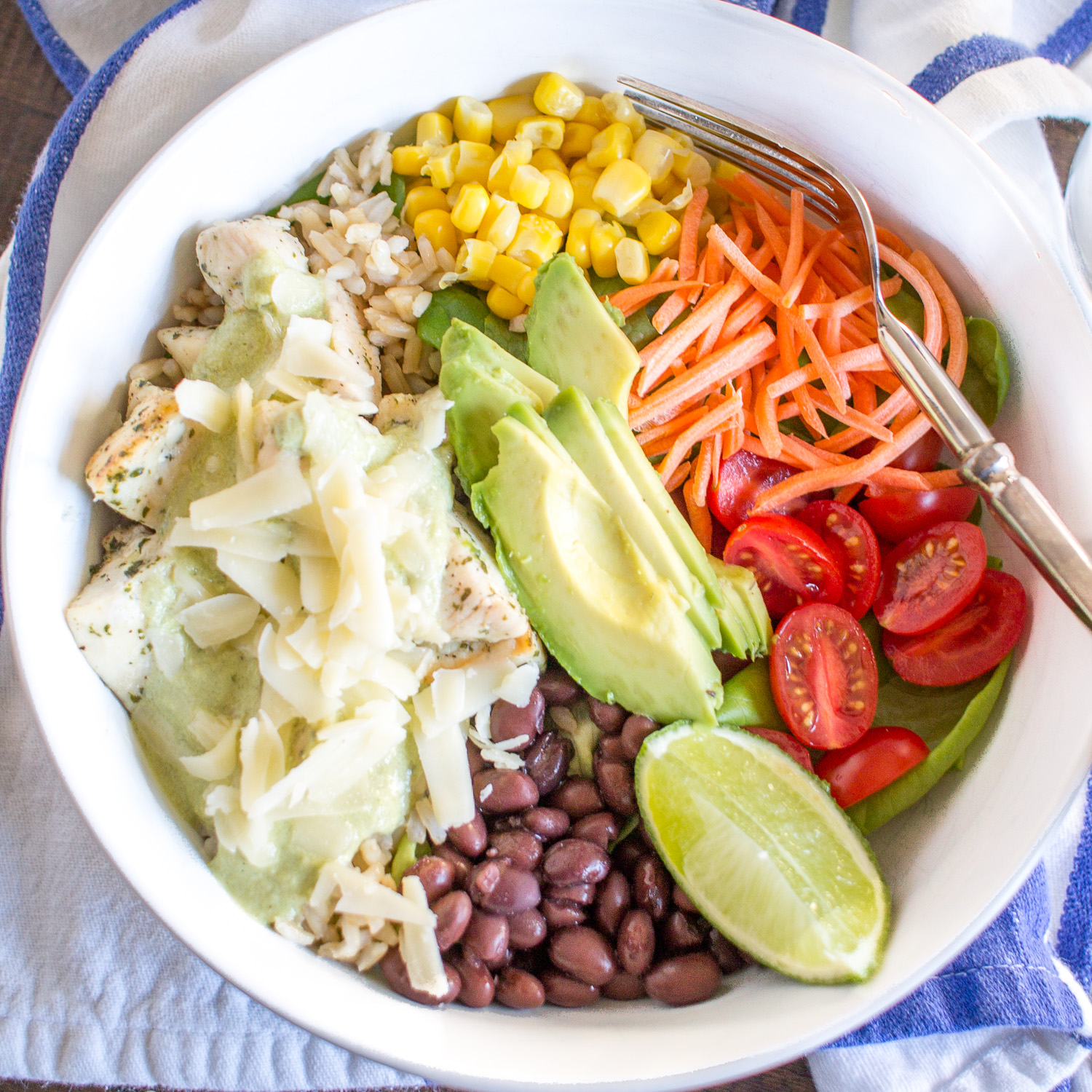 Ranch Chicken Salad Bowl