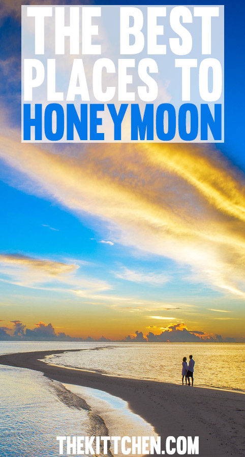 The Best Places to Honeymoon - a list of the best honeymoon destinations include classic honeymoon destinations, places for adventurous couples, city trips, and affordable options!