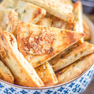 The Best Homemade Pita Chips