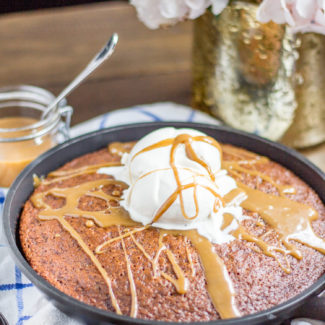 Easy Sticky Toffee Pudding Skillet Recipe