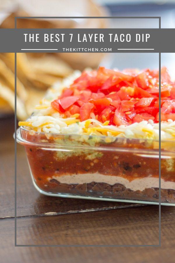 recipe of 7 layer dip