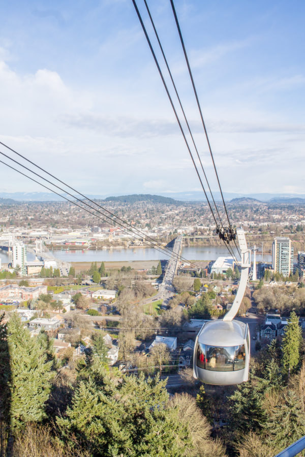 What to do in Portland, Oregon - Aerial Tram