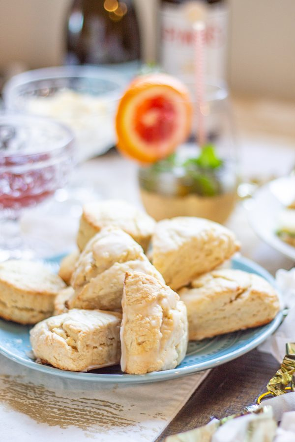 Easy Vanilla Scones: I absolutely love the petite vanilla scones at Starbucks, so I created my own recipe. These easy vanilla scones are a great grab and go breakfast – whip up a batch and eat them throughout the week.