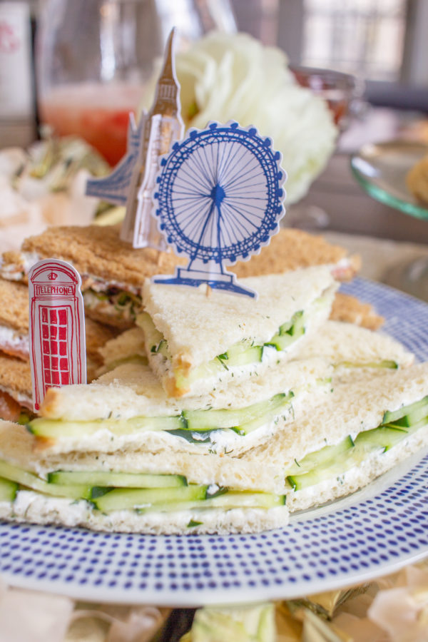 How to Make Tea Sandwiches | Cucumber Tea Sandwiches | Smoked Salmon Tea Sandwiches | Egg Salad Tea Sandwiches