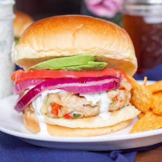 Southwest Turkey Burgers are a delicious healthy weeknight meal.