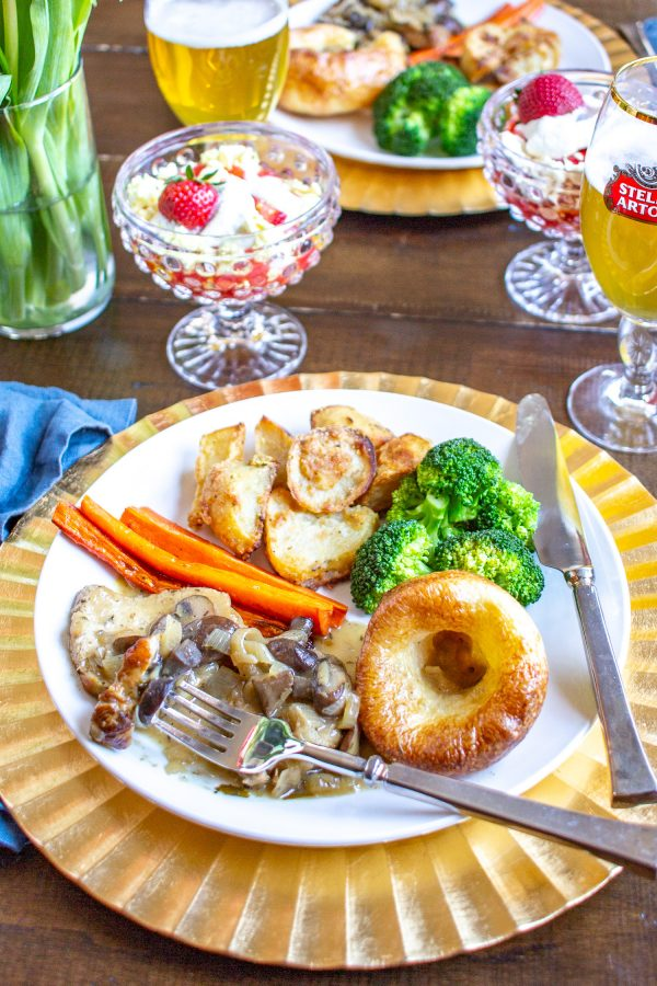 How to make a Sunday Roast | A traditional Sunday Roast consists of roasted meat, gravy, roasted potatoes, vegetables, and Yorkshire Pudding. Get a full Sunday Roast menu right here.
