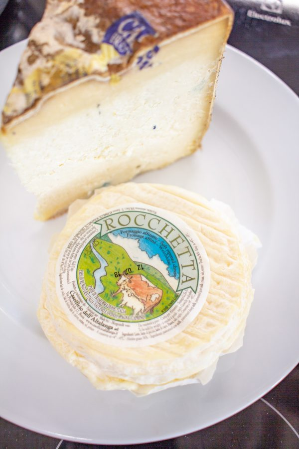 Piedmontese Foods to Try | Rocchetta a creamy soft cheese made with a blend of cow's, sheep's, and goat's milk