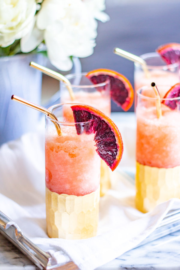 Negroni Slushies | Learn how to make a Negroni Slushy and impress your friends with a frosty boozy summertime treat!