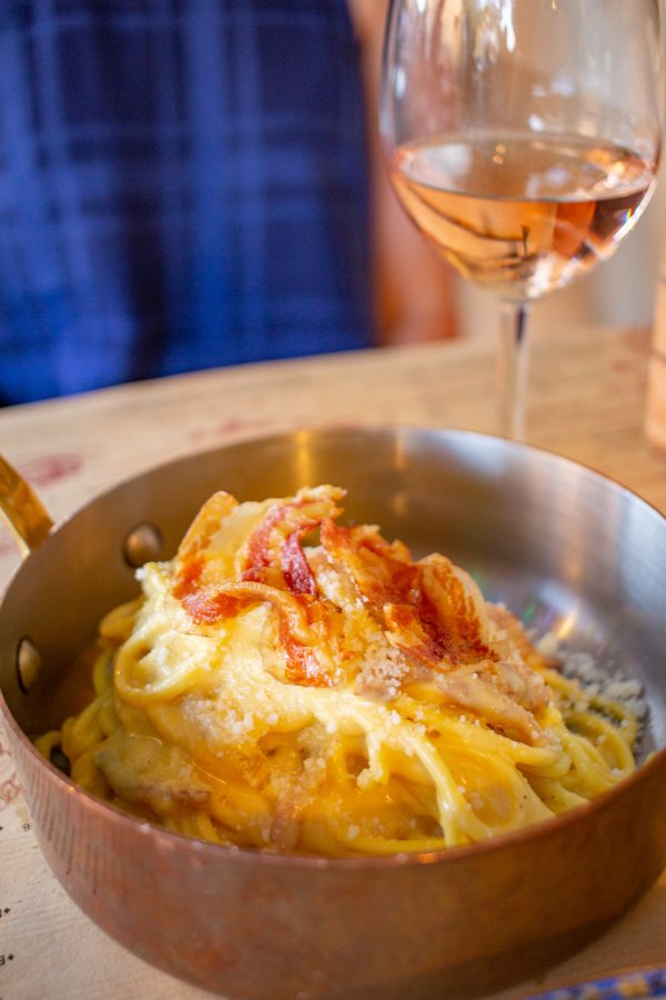 La Bastide de Pierre in Gordes, France | This is the place to eat in Gordes - the carbonara is out of this world!