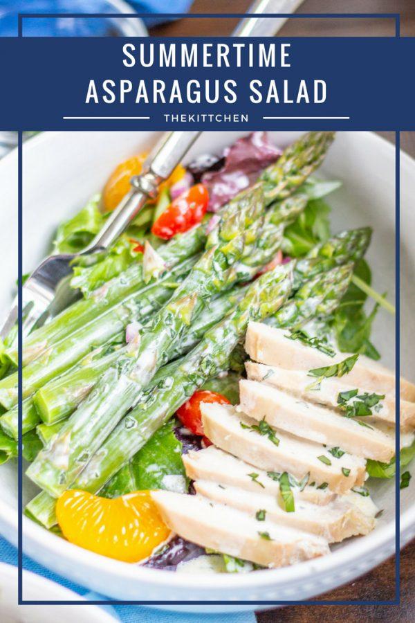 summertime asparagus salad