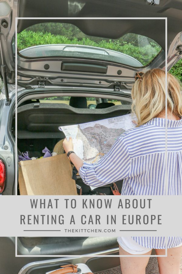 what to know about renting a car in europe