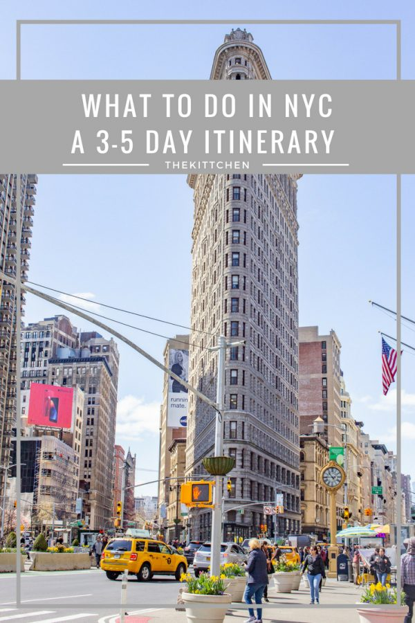 What to do in NYC : A detailed 3-5 day NYC Itinerary | This 5 Day NYC Itinerary brings together all of the city's must-see sites. Experience all of the best museums, historical sites, parks, and things to do in New York City. This itinerary is designed so that you can walk from place to place exploring a different part of the city each day. #nyc #newyorkcity