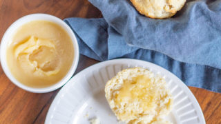 Biscuits with Honey Butter