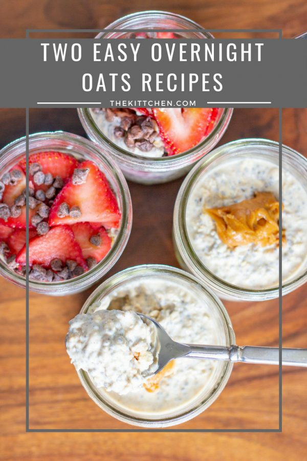 How to Make Overnight Oats | These Easy Overnight Oats recipes are here to make your weekday mornings a little easier, and much more delicious. Overnight oats is a filling and nutritious grab and go breakfast that can be customized with your favorite toppings.