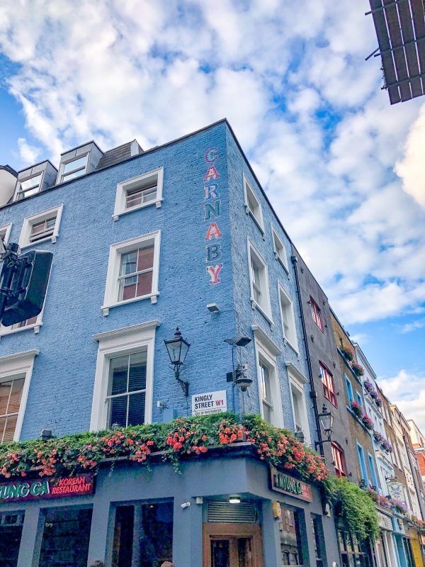 What to do in Soho, London - Carnaby Street