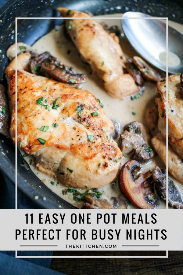 11 Easy One Pot Recipes | These easy one pot meals can transform dinnertime from an overwhelming task to something that is easy to conquer.