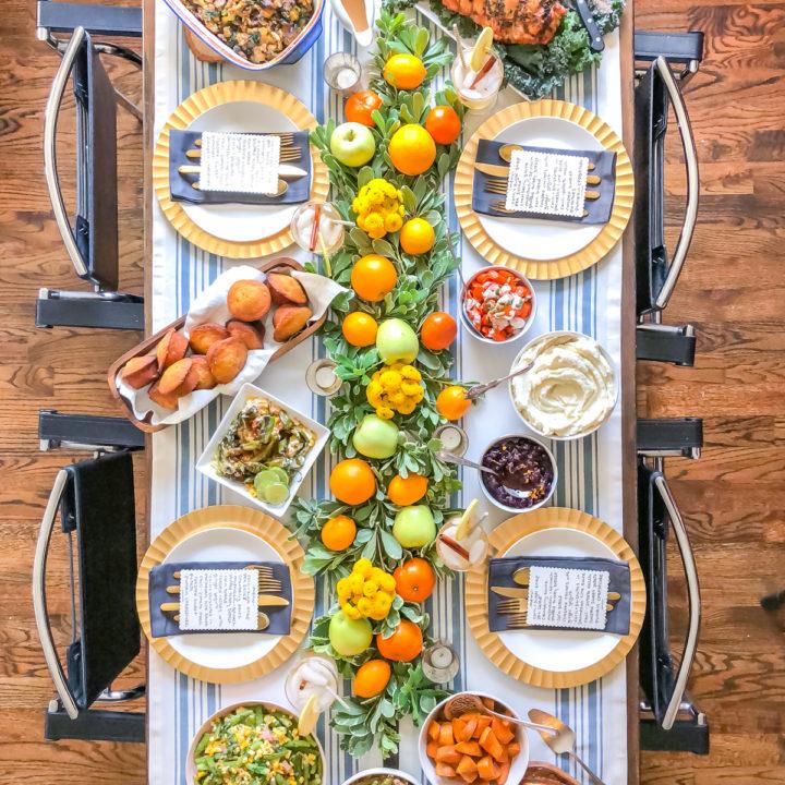 Healthy Thanksgiving Menu