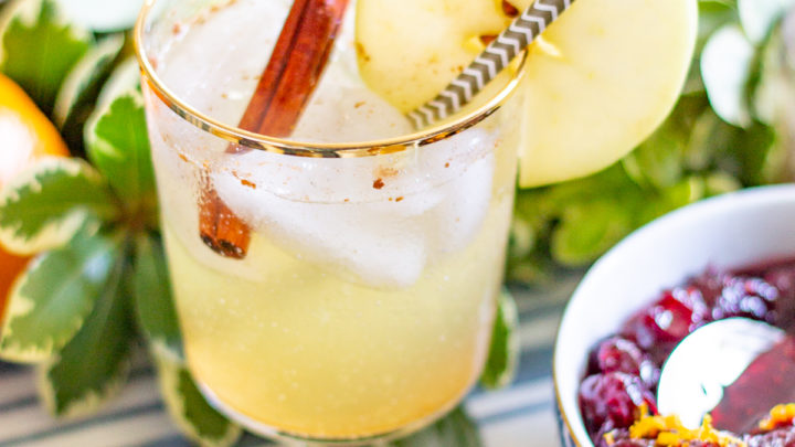 Apple Moscow Mule Mocktail