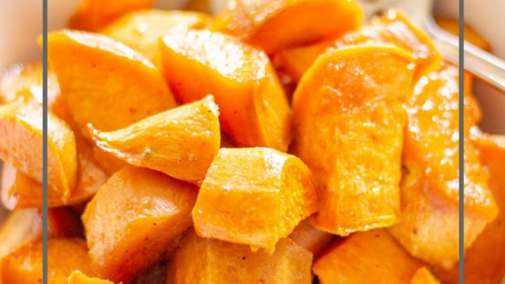 Roasted Thanksgiving Sweet Potatoes