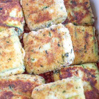 How to Make Toasted Zucchini Ravioli