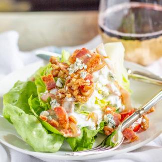Steakhouse Style Wedge Salad