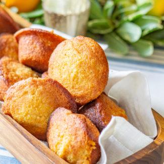 The Best Corn Bread Muffins