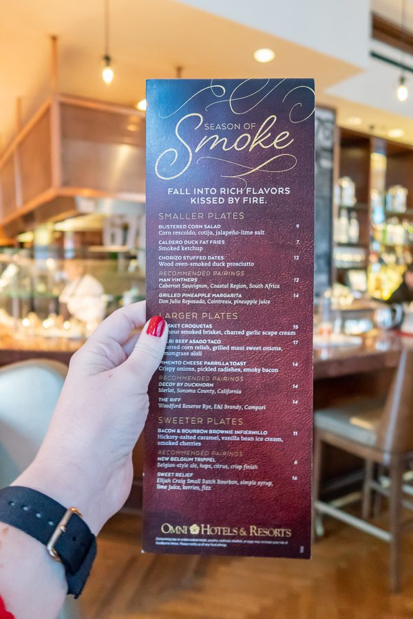 Omni Hotel Season of Smoke 7
