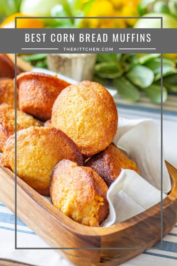 Best Cornbread Muffin Recipe | This recipe for the best Corn Bread Muffins makes for a great Thanksgiving side dish or a delicious breakfast.
