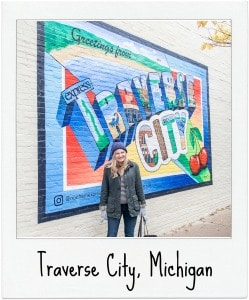 Traverse City Travel page