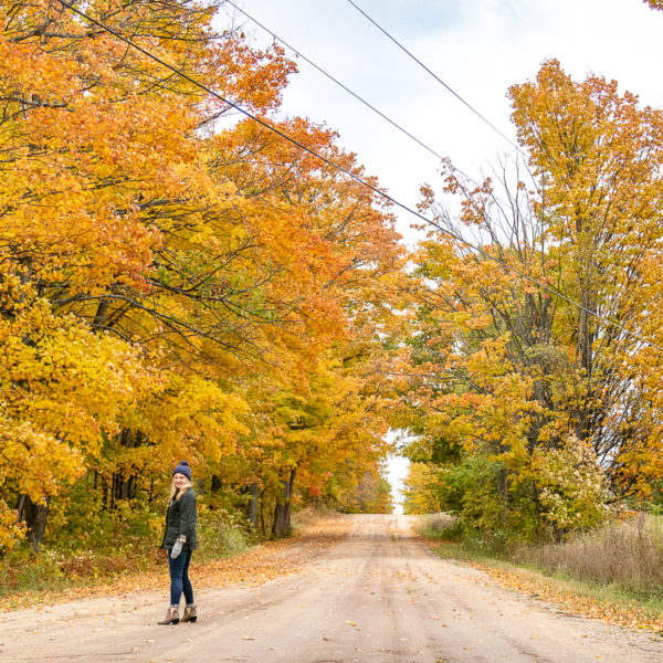 Traverse City in Fall