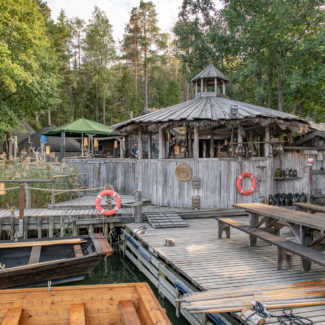 Visiting Saunas in Finland