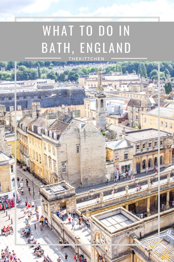 What to do in Bath, England - Bath is a small city with breathtaking architecture, amazing food, and historic Roman Baths.