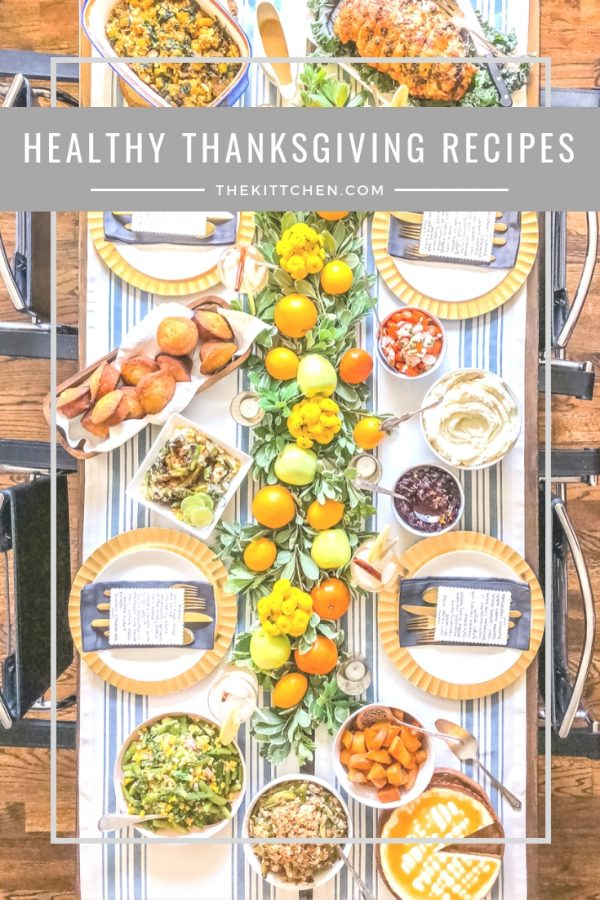 Healthy Thanksgiving Recipes | This heathy #Thanksgiving menu includes lighter versions of all the classic Thanksgiving foods, so that you can enjoy the holiday without over indulging.