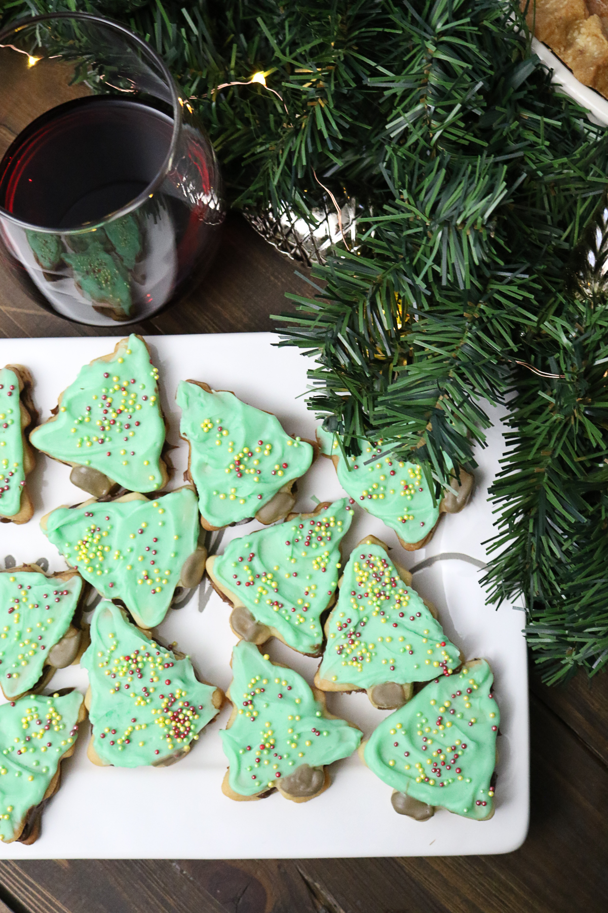 Christmas Tree Sugar Cookie Sandwiches Easy Sugar Cookie Recipe