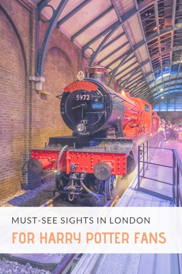 Harry Potter Filming Locations | If you are a Harry Potter fan traveling to London, you need to add this list of Harry Potter filming locations to your itinerary!