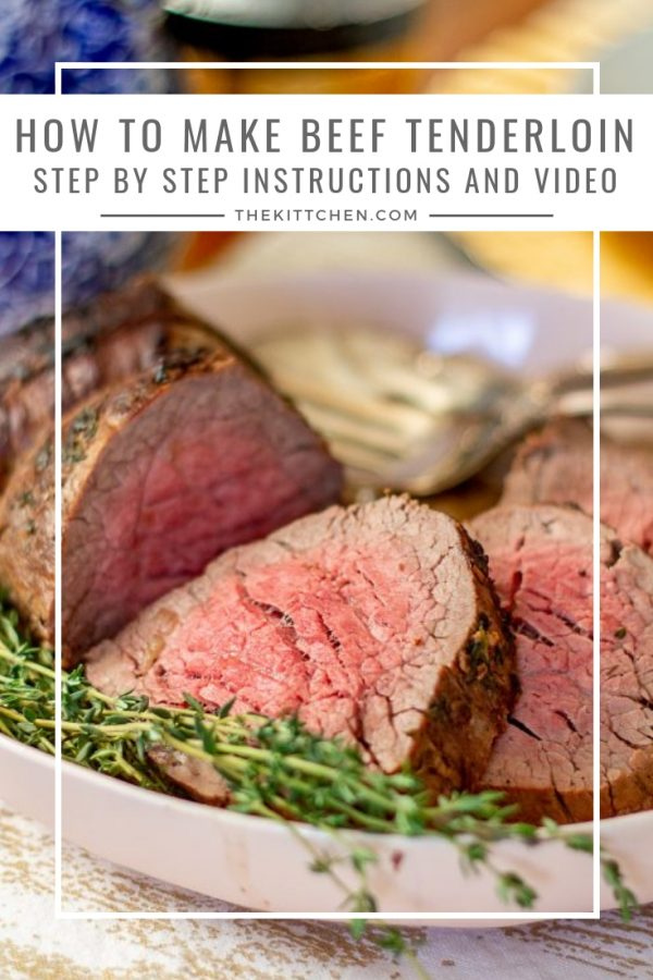 Step by Step Instructions for Making Beef Tenderloin | This complete guide with step by step instructions for making beef tenderloin will show you how to make a flawless beef tenderloin.