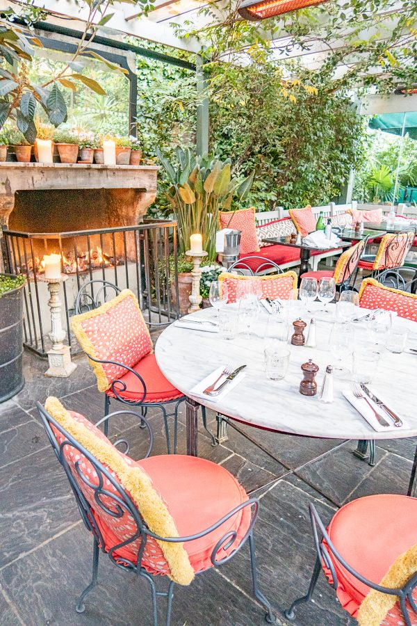 Essential London Restaurants The Ivy Chelsea Garden 5