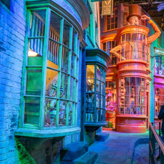 The Harry Potter Studio Tour in London