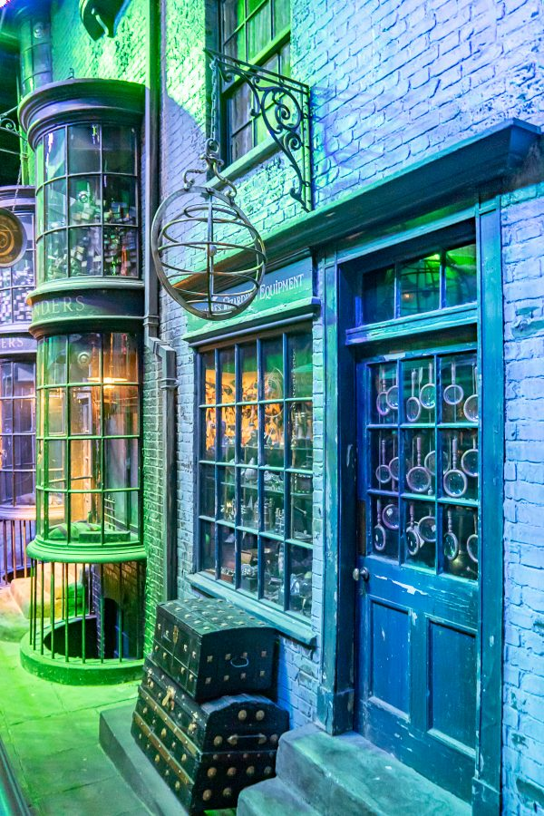 Harry Potter Studio Tour London - Ollivander's Wand Shop