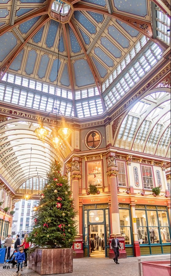 Harry Potter Filming Locations - Leadenhall Market