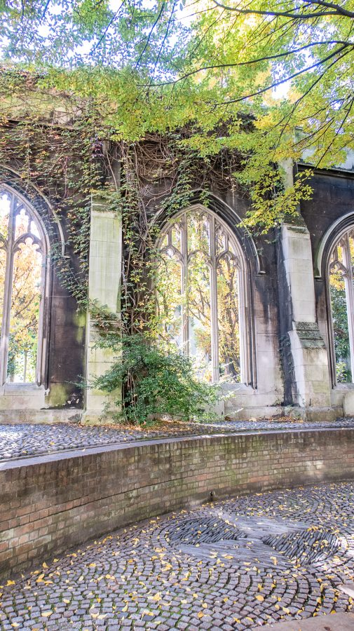 What to do in the City of London St. Dunstan in the East 4