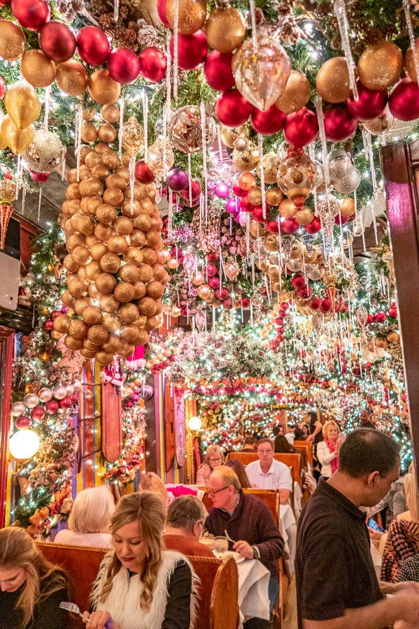 Christmas in NYC | What to do in New York City at Christmastime : Rolf's German Restaurant