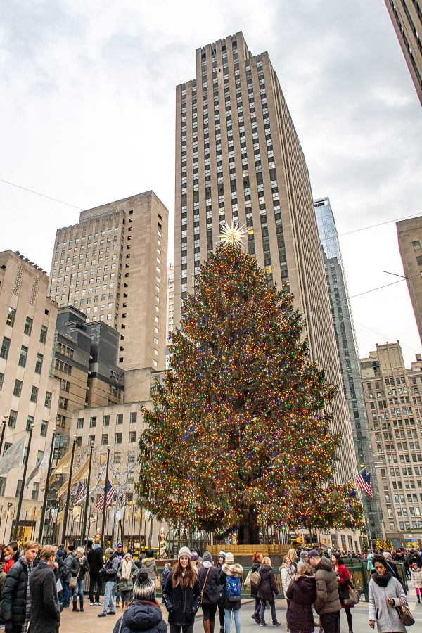 Christmas in NYC | What to do in New York City at Christmastime : Rockefeller Christmas Tree