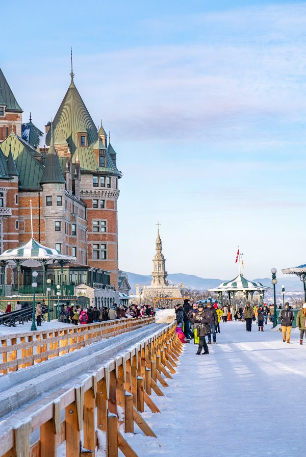 Things to do in Quebec City | A guide of what to do in Quebec City in winter: Toboggan