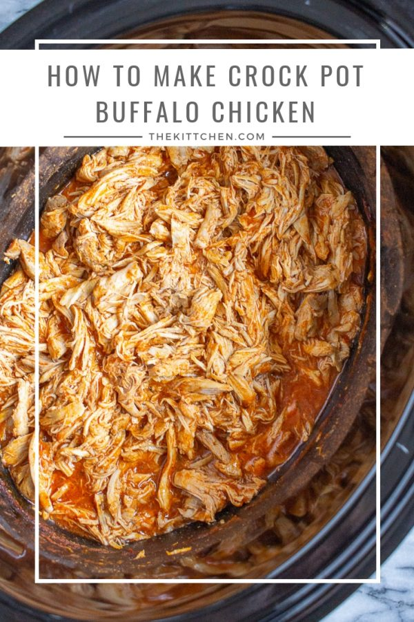 How to make Crock Pot Buffalo Chicken| Learn an easy 3 ingredient, 5 minute, recipe for Crock Pot Buffalo Chicken.