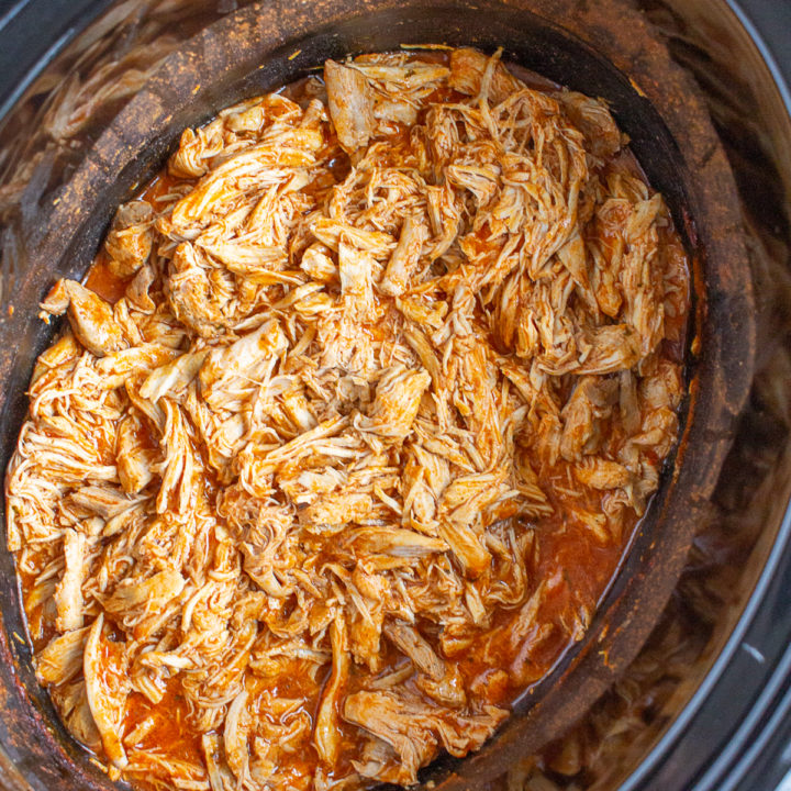 Crock Pot Buffalo Chicken