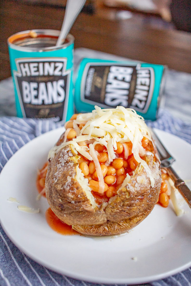 Jacket Potatoes with Beans