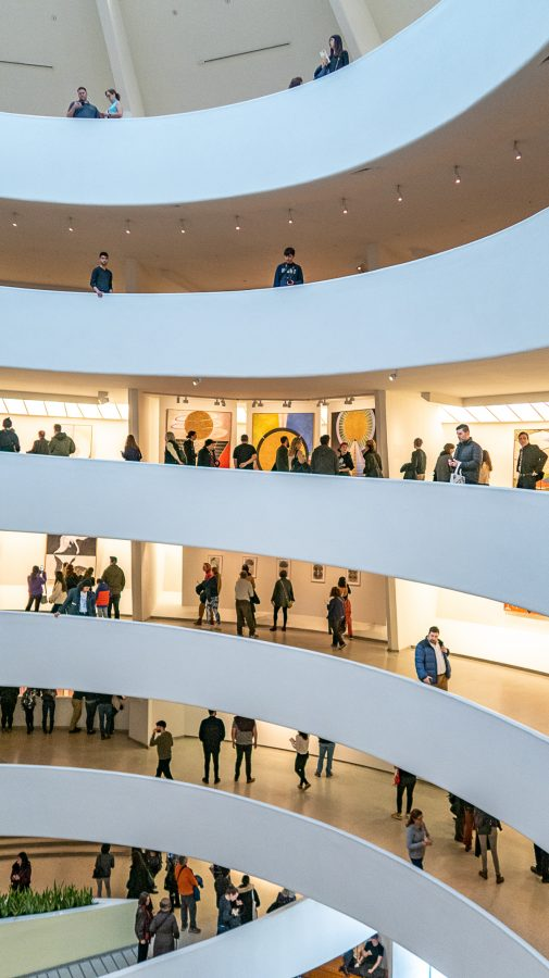 What to do in the Upper East Side | The Guggenheim devotes most of its space to visiting exhibitions and focuses on exhibiting Modern and Contemporary Art.