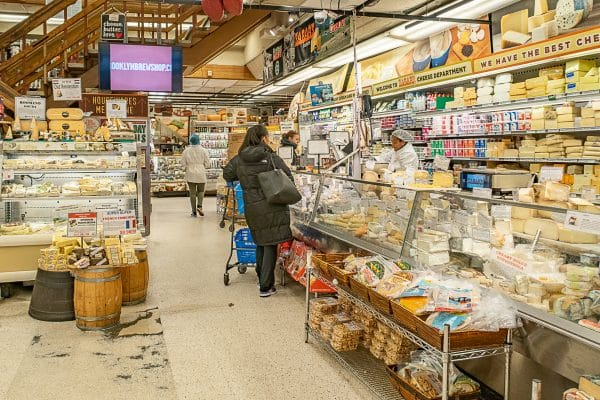 What to do in the Upper West Side: Zabars Cheese Section